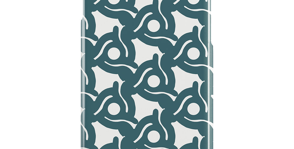 Spacer Blue iPhone case