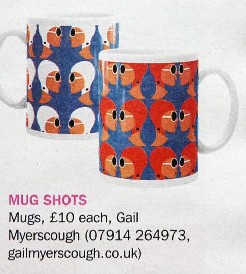 Gail Myerscough Lido Ladies mugs