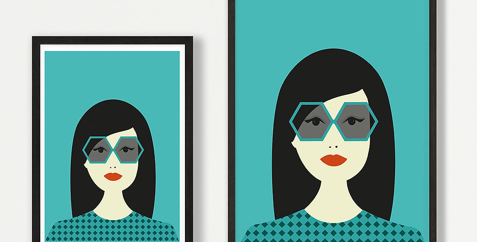 Sylvie unframed print - wholesale
