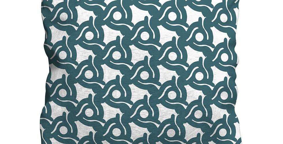 Spacer Blue cushion