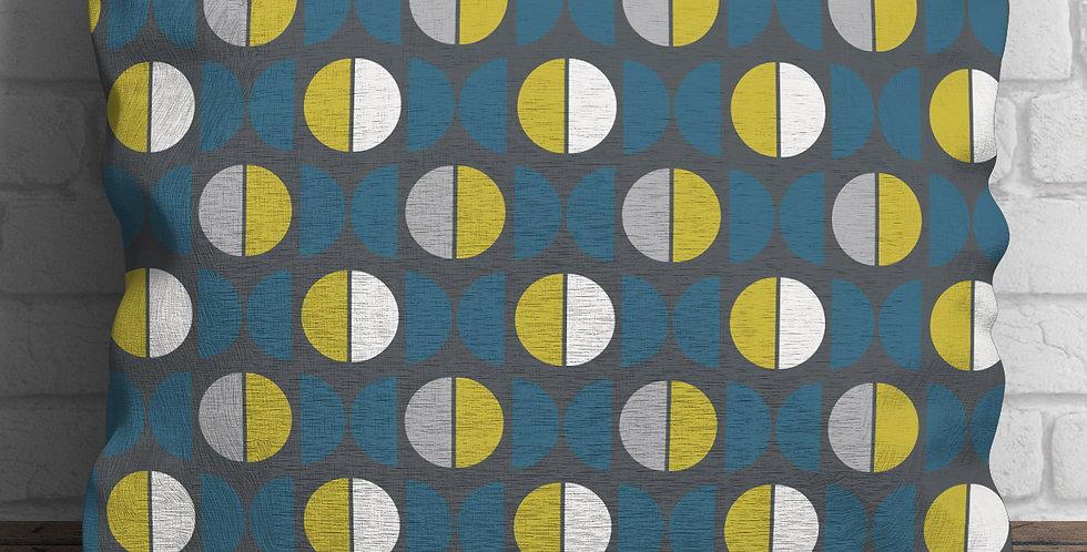 Lexicon Blue Cushion
