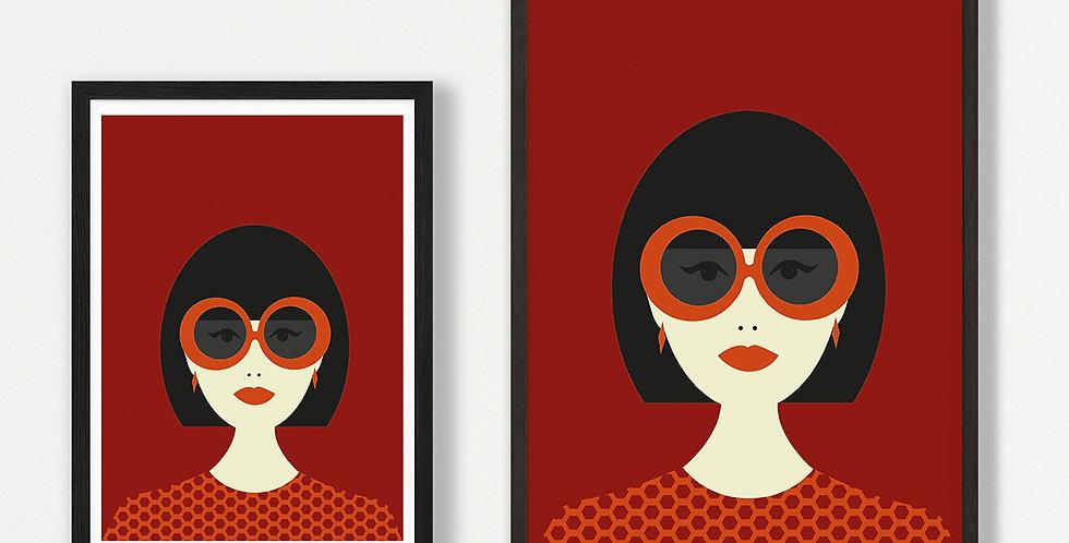 Edie unframed print