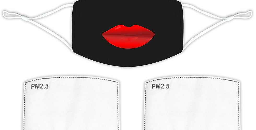 Lips Face Mask (with filters)