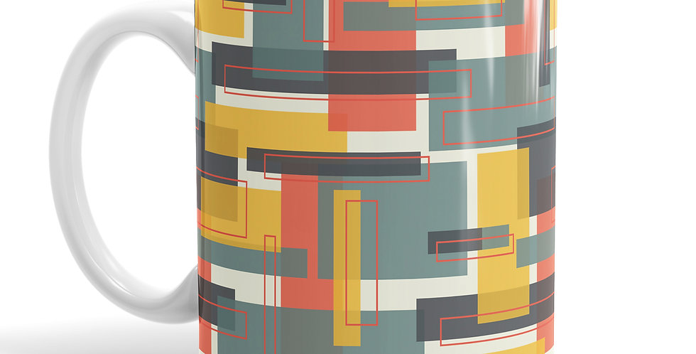 Albers Blue mug