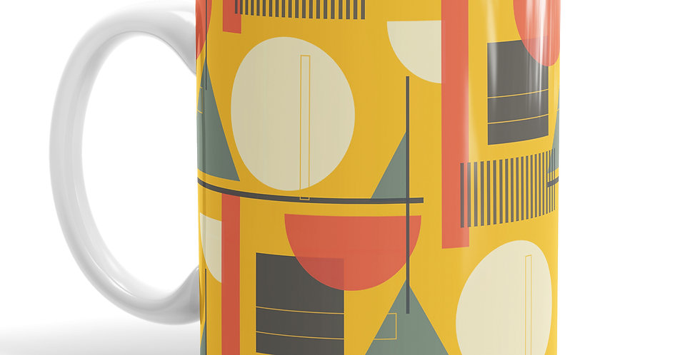 Kandinsky Yellow mug
