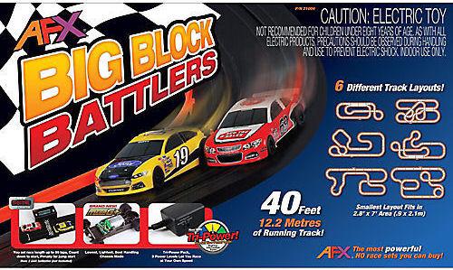 MG Big Block Battlers Race Set