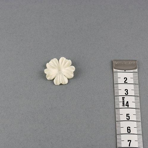 Blumen zum Aufnähen und Kombinieren, Satin, mittelgroß