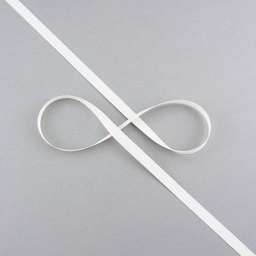 """Satinband matt glänzend in 9 mm Breite, Farbe """"Antique White"""""""