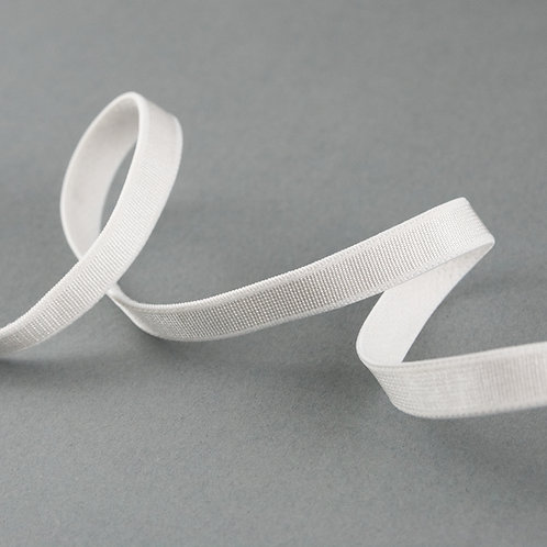Elastik-Band einfach, Farbe weiß