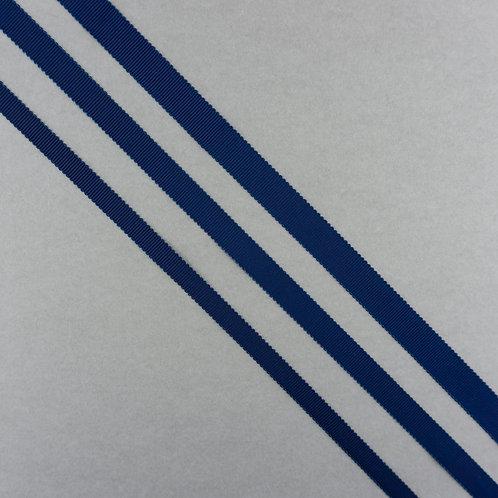 Ripsband in 16/13/10mm Breite, Farbe Dunkelblau