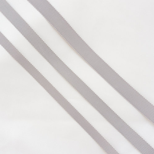 Ripsband in 16/13/10mm Breite, Farbe Grau