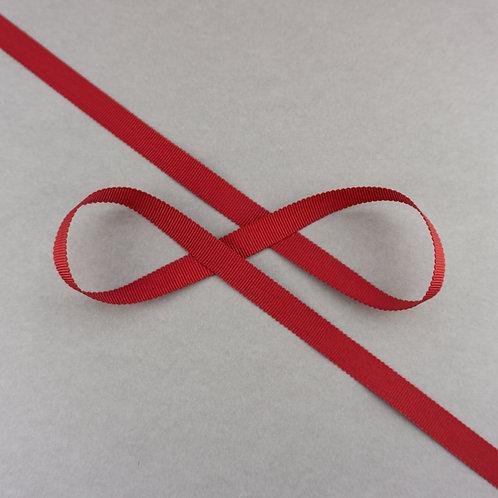Ripsband, 13mm Breite, Farbe Dunkelrot