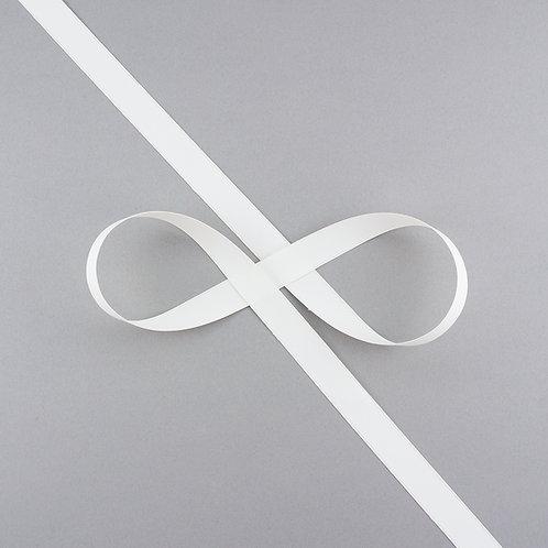 """Satinband matt glänzend in 16 mm Breite, Farbe """"Antique White"""""""