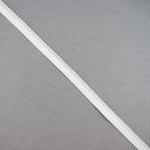 Elastik-Band mit Abschluss-Kante, Farbe Ivory