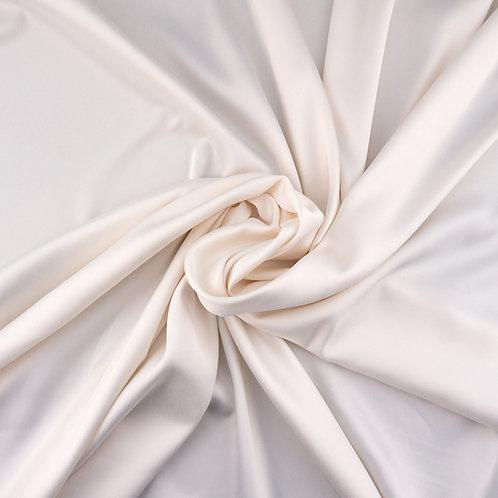 Futterstoff mit Stretch-Anteil, Farbton Ivory