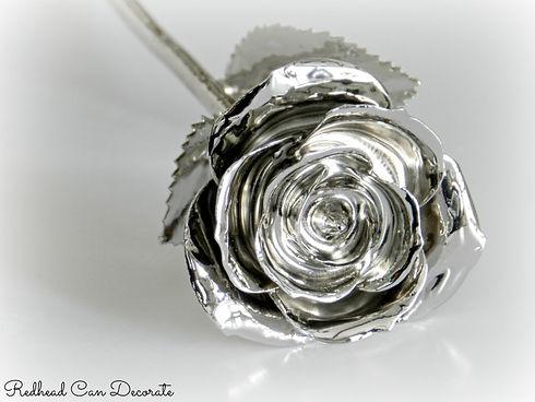 Platinum-Dipped-Real-Rose-Redhead-Can-De