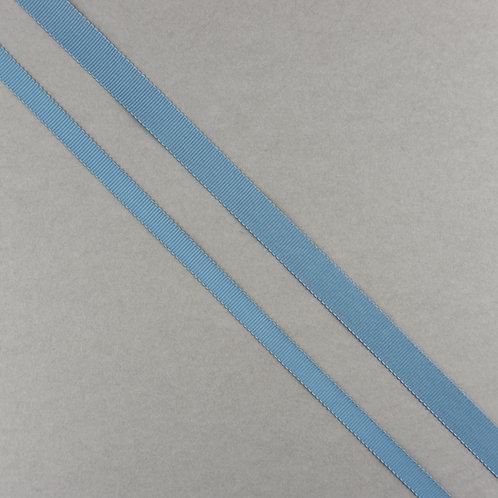 Ripsband in 16/10mm Breite, Farbe Graublau
