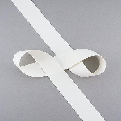 """Satinband matt glänzend in 38 mm Breite, Farbe """"Antique White"""""""