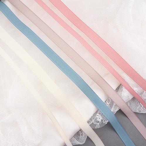 Strukturiertes Band, matt, verschiedene Farben und Breiten