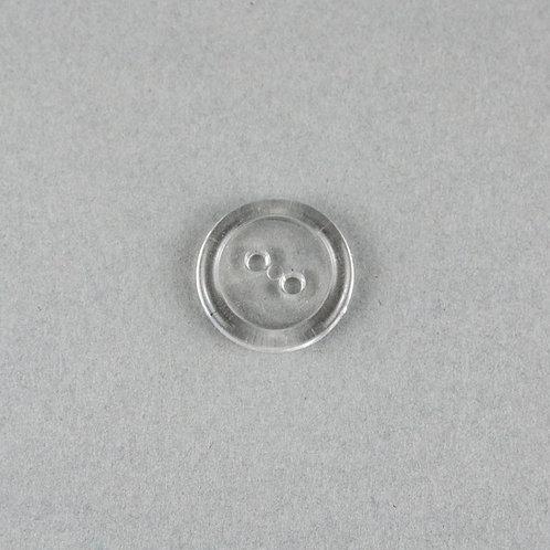 Basic Knopf  20 mm -Klar-