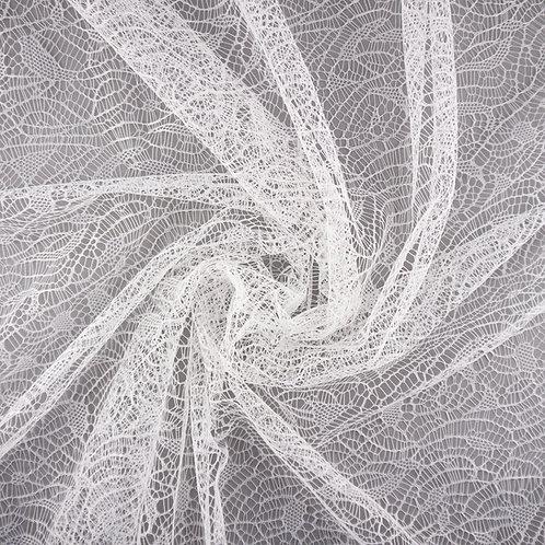 Spitze mit gleichmäßigem Muster, Farbton Ivory