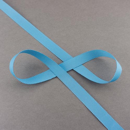 Ripsband, 16mm Breite, Farbe Hellblau
