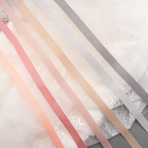 Ripsband dick in 16mm Breite, diverse softe Farben