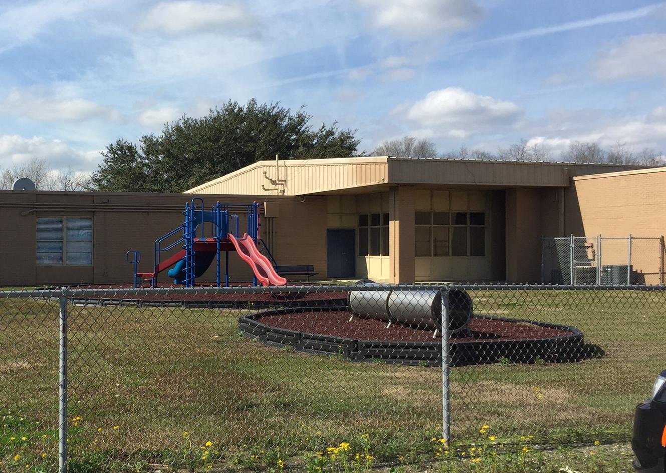 Fifth Ward Elementary School in St. James, Louisiana.