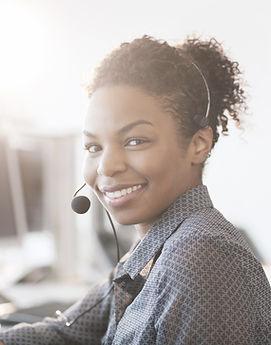 Tina, phone operator at APD