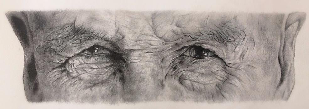 Hand drawn portrait