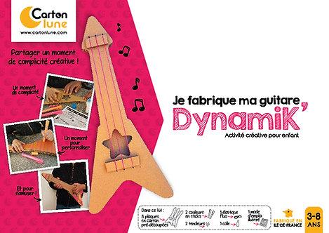 """Kit créatif pour enfant """"Je fabrique ma guitare DynamiK"""""""