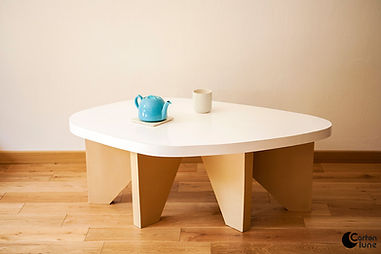 Table basse galet 120cm