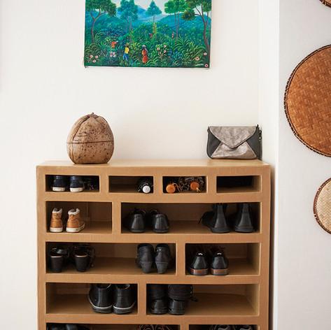rangement sur mesure chaussures