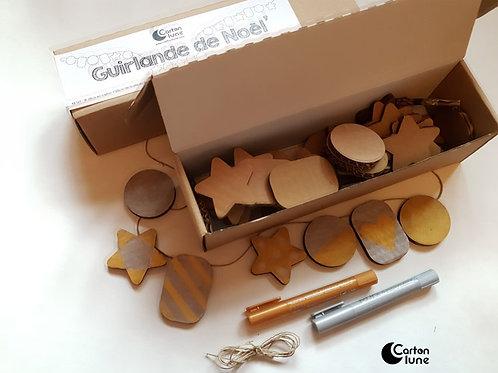 Kit DIYJe fabrique ma guirlande de noël