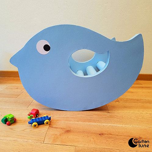 Rocking chair enfant Bird - bleu