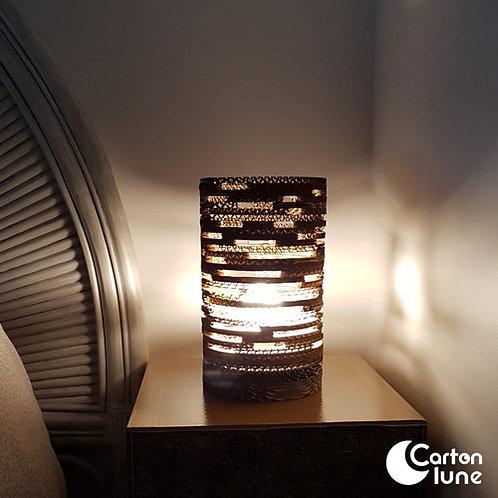 "Lampe ""Dent'L"" 2D en carton"