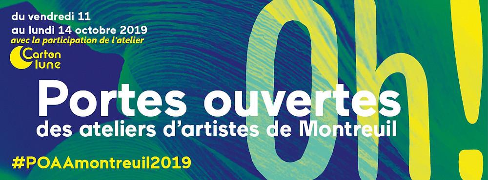 portes ouvertes ateliers artistes montreuil 2019