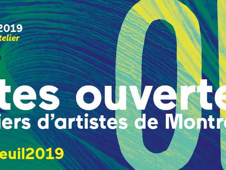 Portes Ouvertes des Ateliers d'Artistes - Montreuil 2019