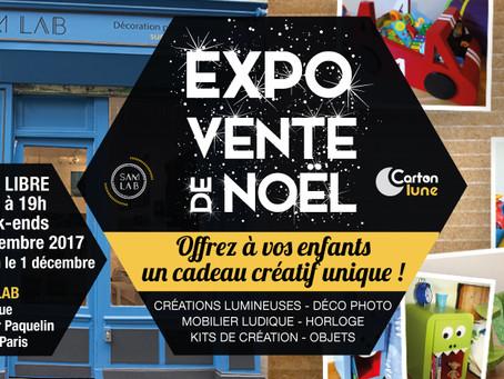 EXPO VENTE DE NOEL de créateurs Made in Paris Montreuil