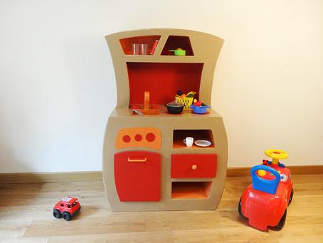 Création sur mesure cuisine enfant Capucine