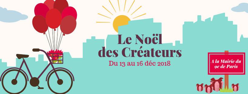 Noel des créateurs français mairie du 9e à Paris