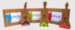 table de chevet chambre enfant
