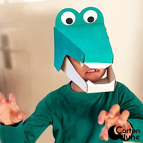 Kit  Je fabrique mon masque Crocodile