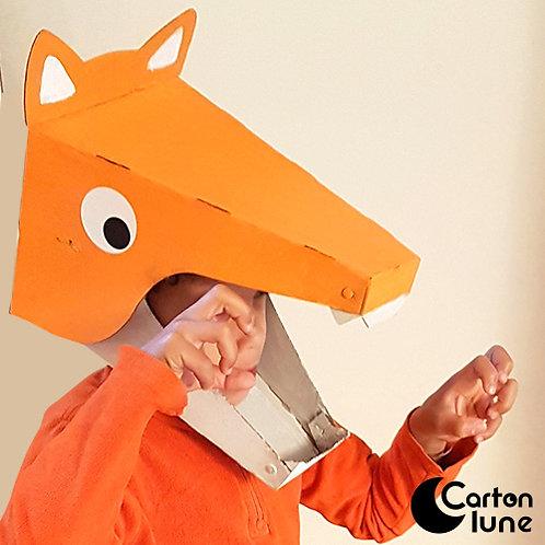 Kit  Je fabrique mon masque Renard