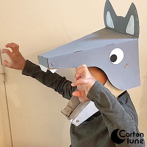 Kit  Je fabrique mon masque Loup