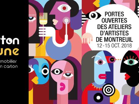 Portes Ouvertes des Ateliers d'Artistes - Montreuil 2018