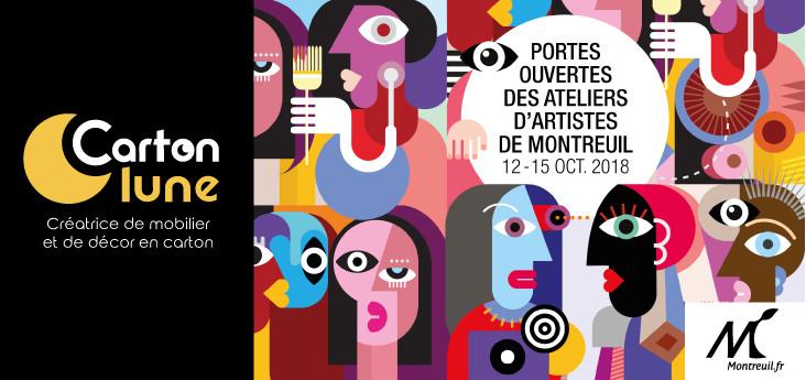 portes ouvertes ateliers artistes montreuil 2018