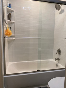 Bathroom Remodel with New Tile