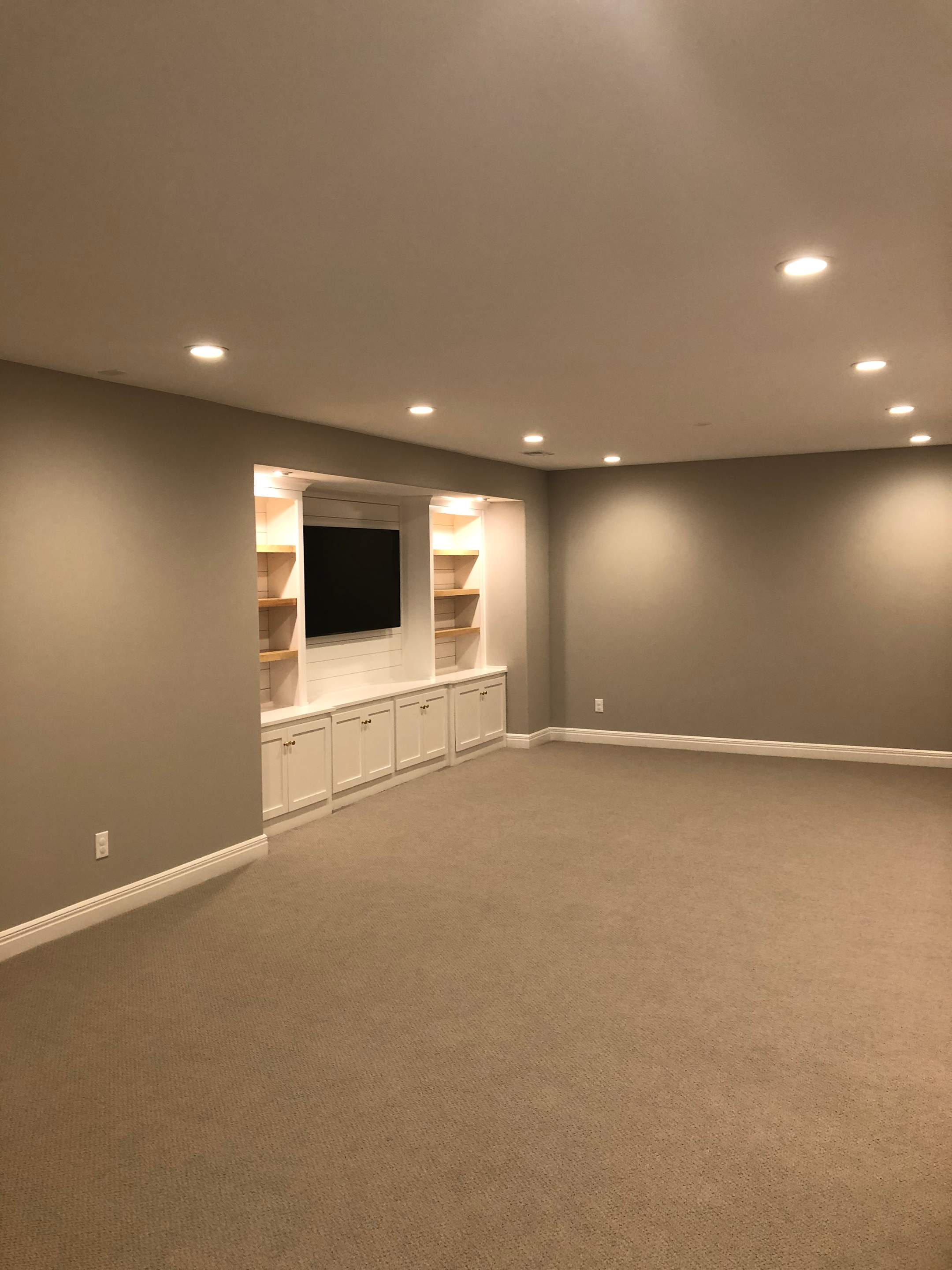 Large, Open Family Area