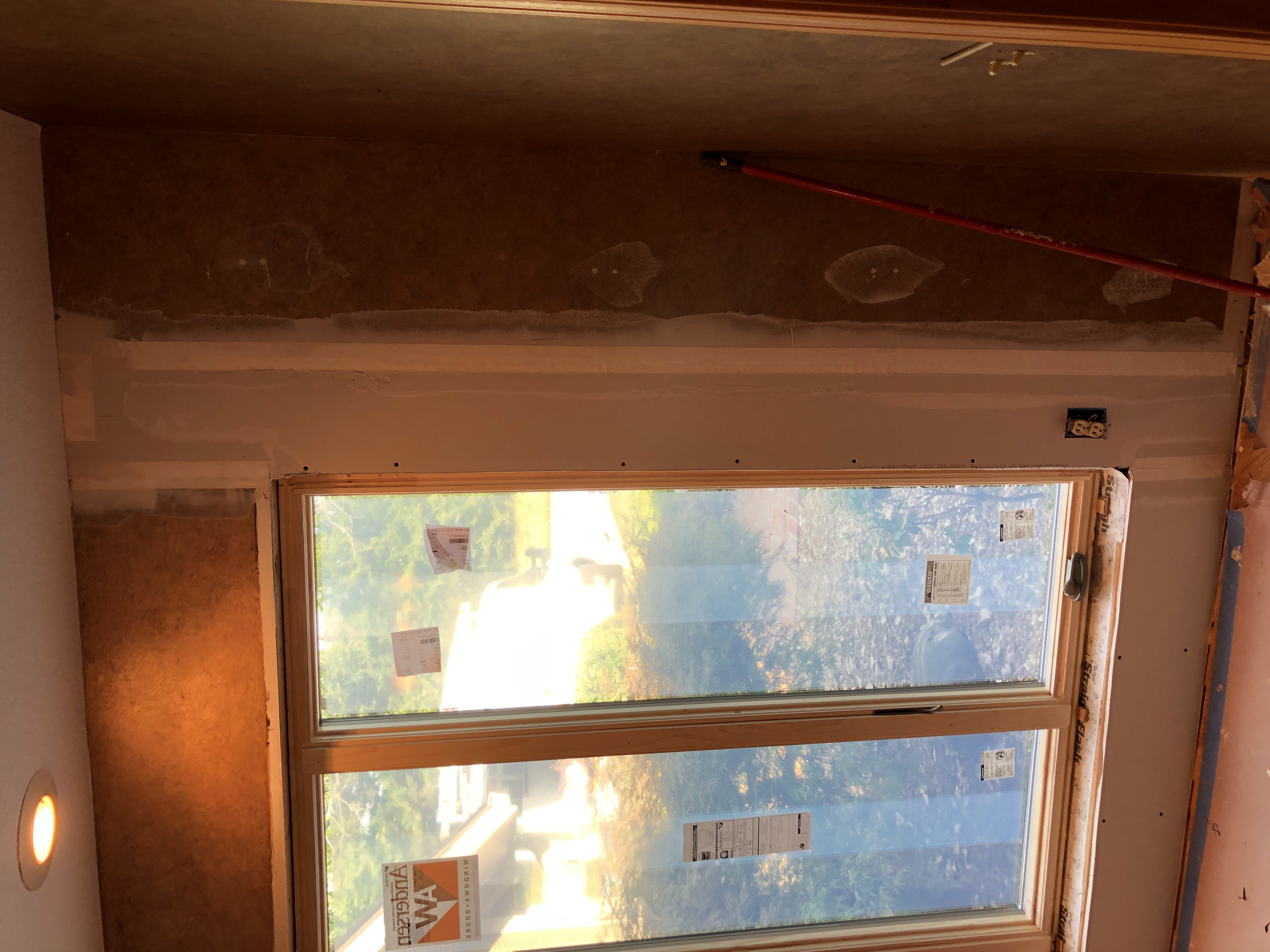 Window Replacement Complete